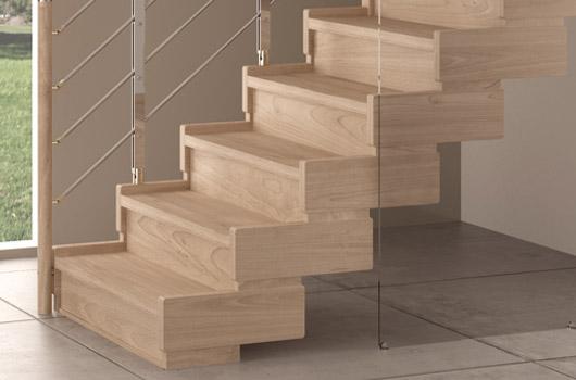 Scale per interni in legno e ferro scale interne scale rintal - Scale interne in poco spazio ...
