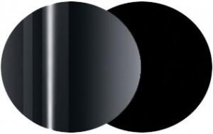 Metallo cromato lucido - Nero