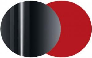 Metallo cromato lucido - Rosso