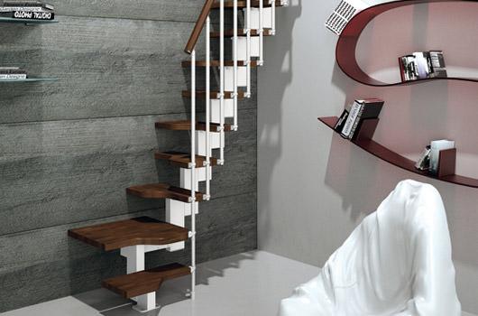 scale per interni in legno e ferro ? scale rintal - Scale Per Interno