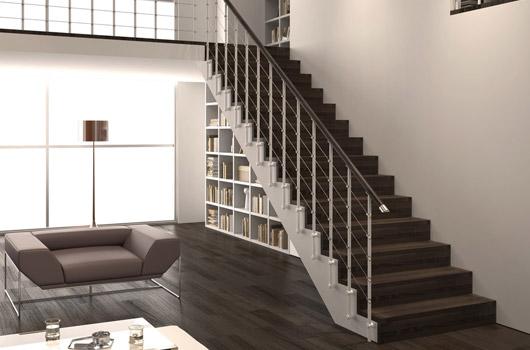 Ringhiere per scale interne ed esterne disponibili in metallo legno e vetro - Ringhiera scale interne ...