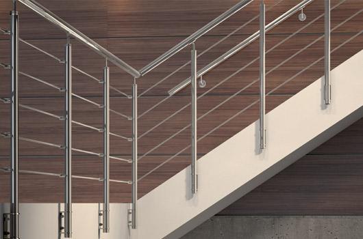 Scale e ringhiere per scale rintal - Scale per esterno in muratura ...