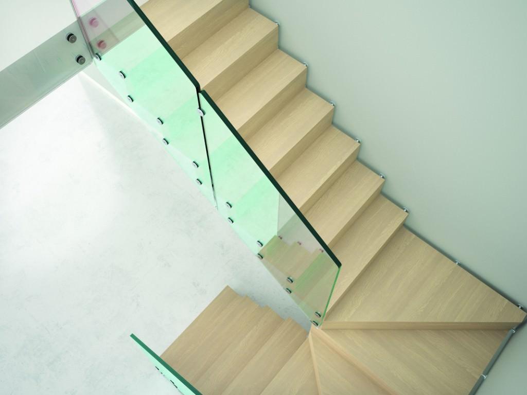 Scala a sbalzo scale prefabbricate rintal aira - Scale interne in muratura moderne ...