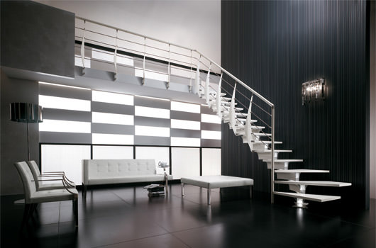 Scala di design per interni rintal prima - Configuratore scale interne ...