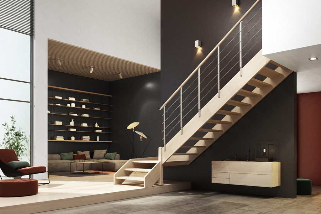 scala in legno su misura scala legno scale in legno