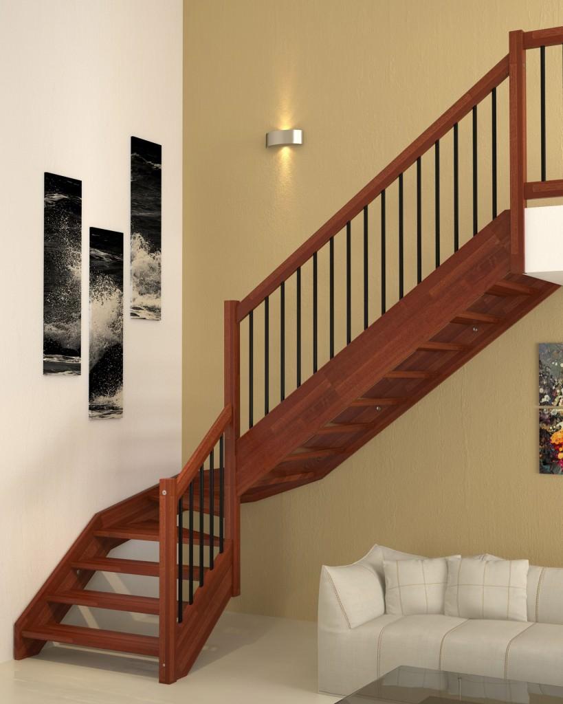 Scale rivestite in legno per interni jr82 regardsdefemmes - Scale da esterno in muratura ...