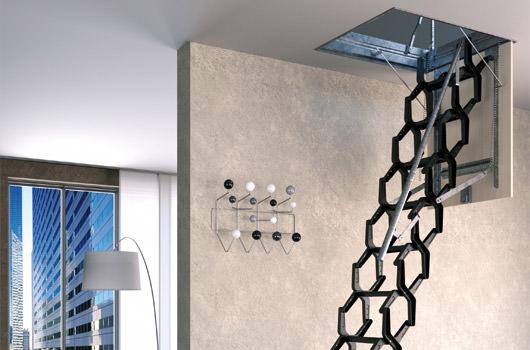 Scale a scomparsa scale retrattili prezzi e dimensioni - Scale a parete ...