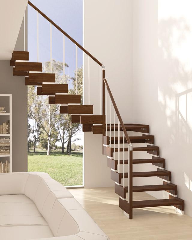 Scala in legno per interni rintal trasforma design for Scale a giorno