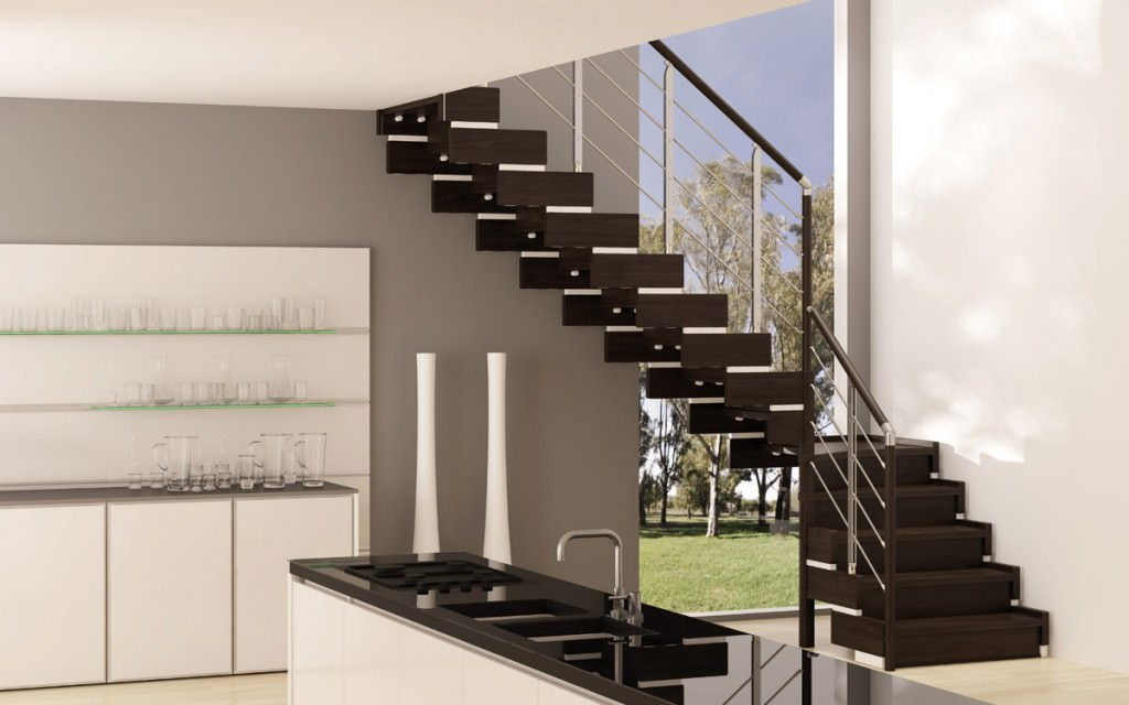 Scala in legno per interni rintal trasforma design - Scale in legno per interno ...