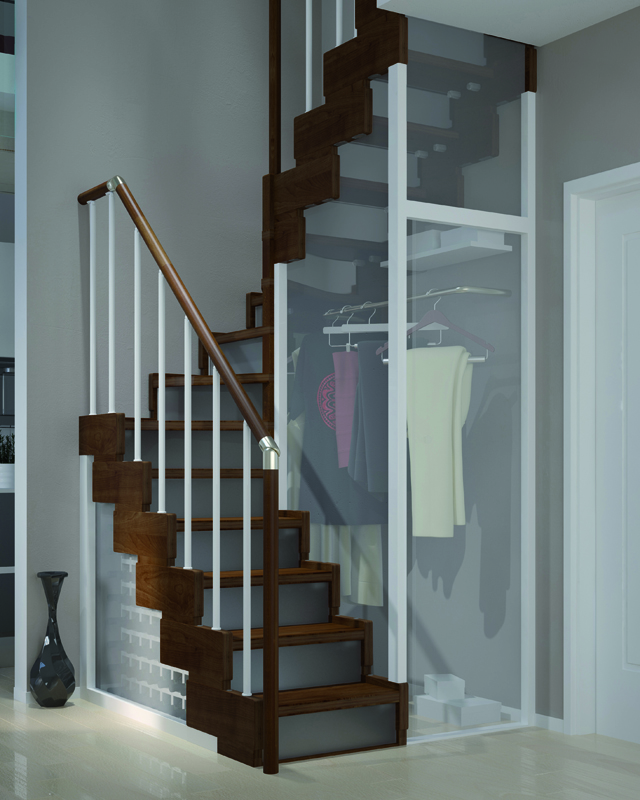 Scala per piccoli spazi dimensioni minime e ridotte - Scale per interni misure ...