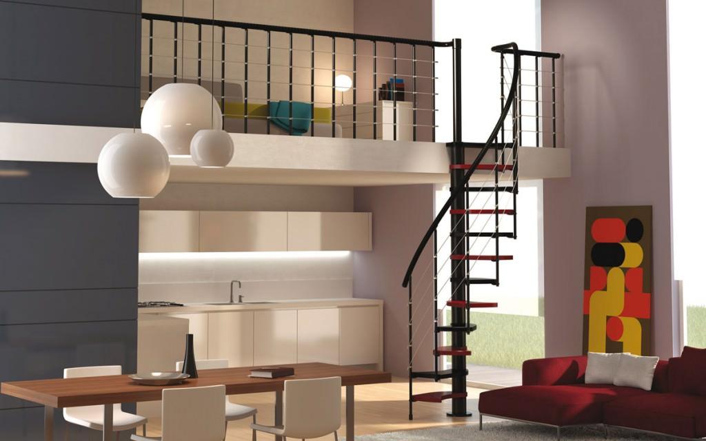 Scala a chiocciola dimensioni minime scala a chiocciola - Case con scale interne ...