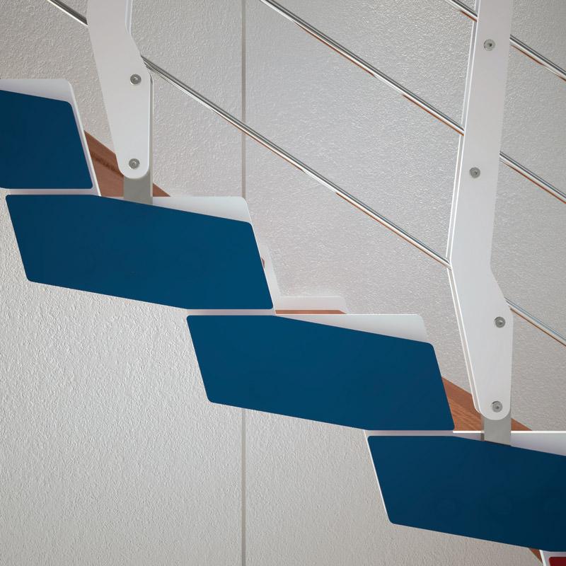 Scala in ferro su misura  Rintal - Loft