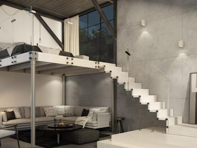 Scaletta In Legno Per Soppalco : Soppalco in legno e in ferro per abitazioni scale rintal