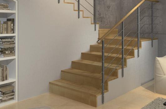 Scale a chiocciola scale a giorno scale elicoidali e - Configuratore scale interne ...