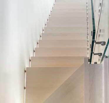 Scala installata a Bolzano