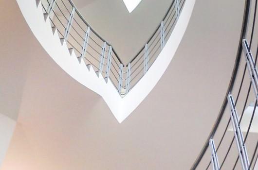 Ringhiera per scale interne installata ad Agrigento