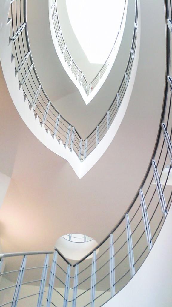 Ringhiera per scale interne installata ad agrigento rintal - Ringhiera scale interne ...