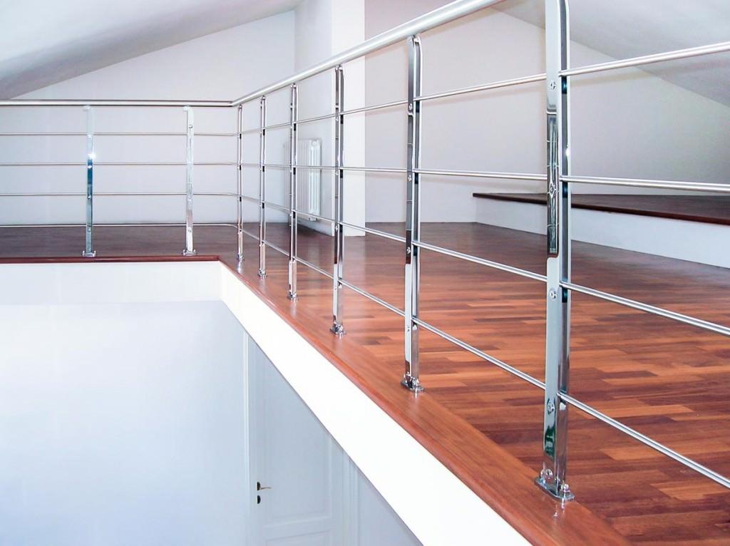 Eccezionale Ringhiera per scale interne installata a Barletta-Andria-Trani  FU99