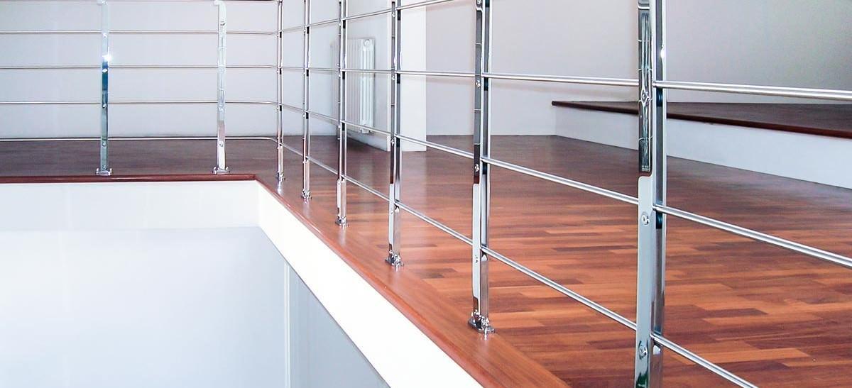 Ringhiera per scale interne installata a Barletta-Andria-Trani