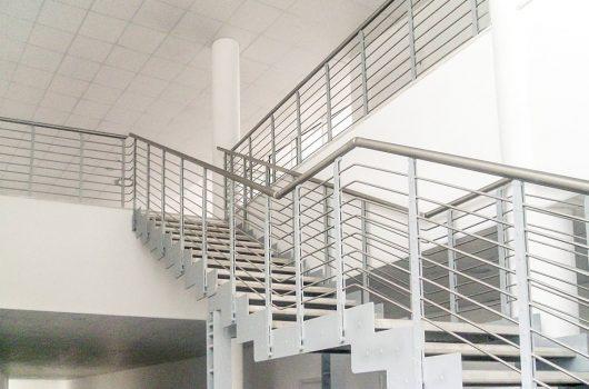 Scala installata a Pistoia