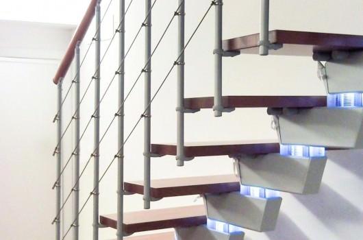 Scala installata a Trieste