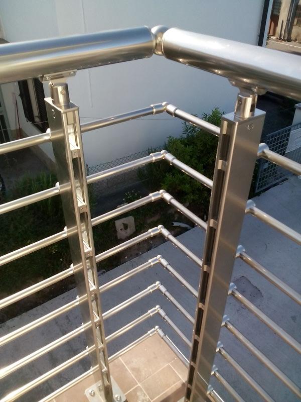Ringhiera In Alluminio Parapetto In Alluminio Per Balcone Rintal
