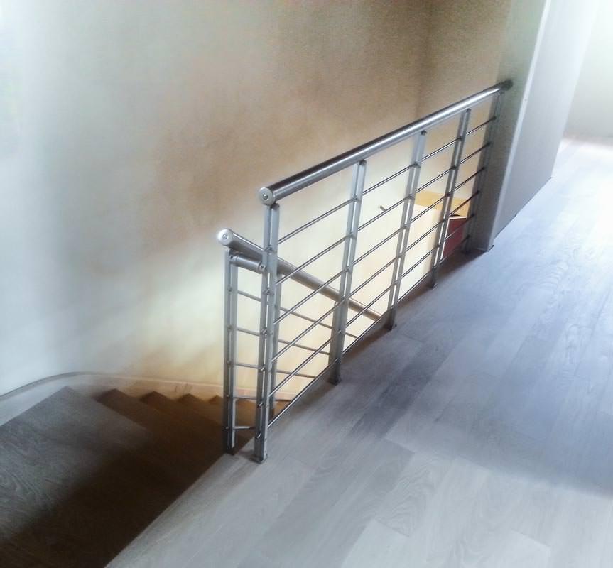 Ringhiera scale ringhiera in ferro battuto verniciato per - Scale rintal prezzi ...