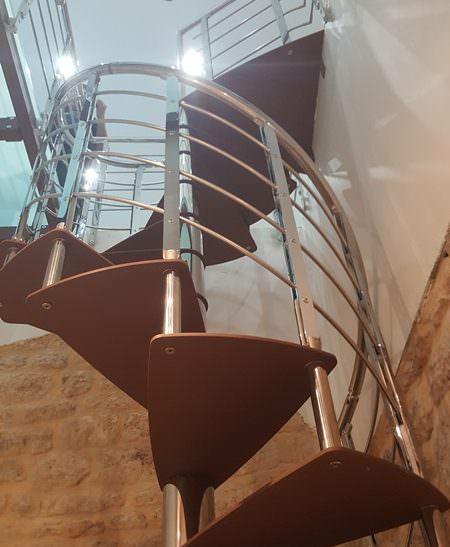 Scala per interni installata a Rimini