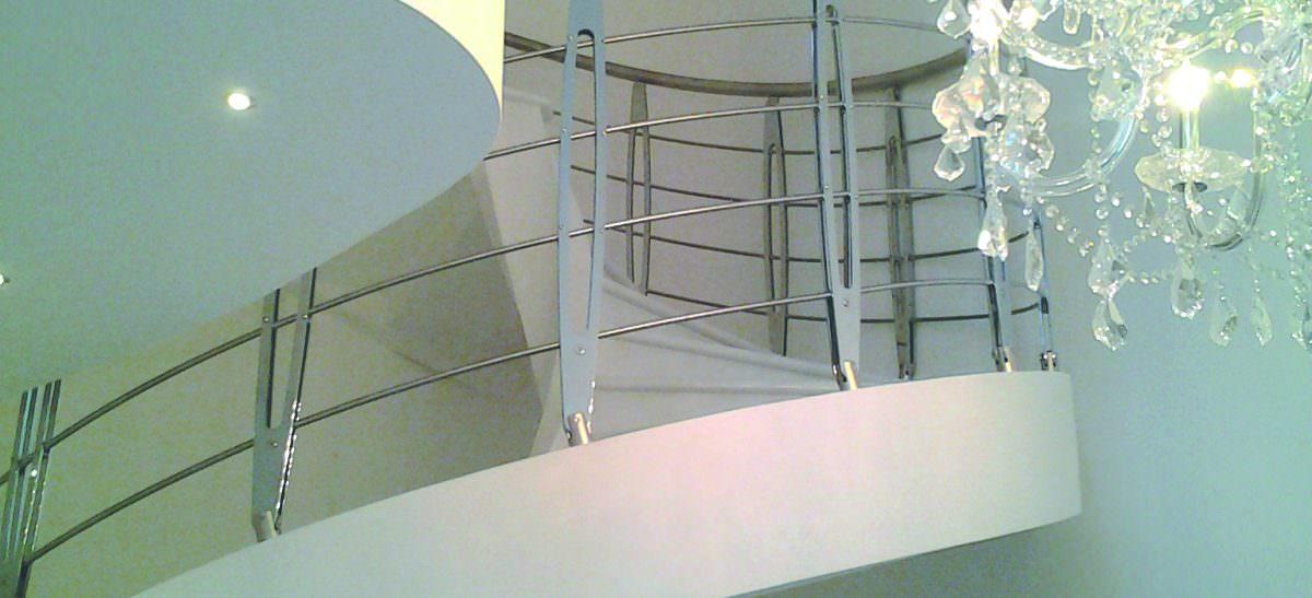 Scala elicoidale installata a Parma