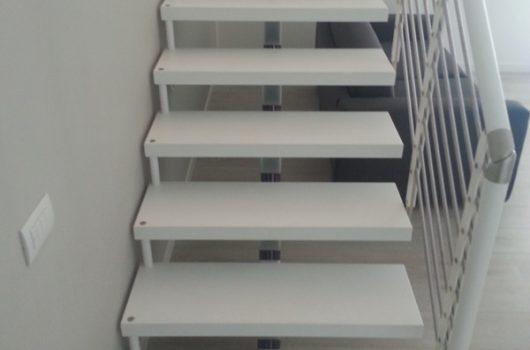 Scala per interni installata a Padova