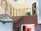 Scala per interni installata a Ancona