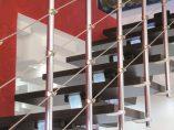 Scala per interni installata a Termoli