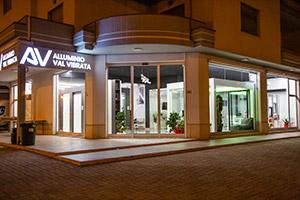 Scale Teramo - Show Room - Alluminio Val Vibrata