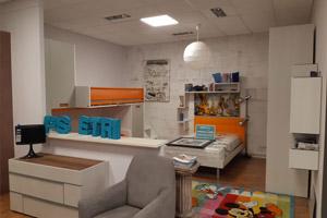 Camere da letto in esposizione c/o Umbra Design